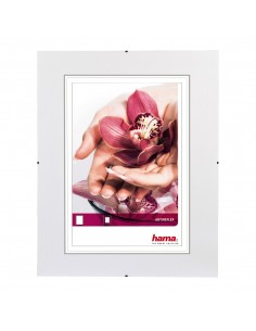 Hama Clip-Fix Transparent Enbildsram Hama 63110 - 1