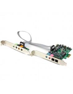 StarTech.com 7.1 Channel Sound Card - PCI Express, 24-bit, 192KHz Startech PEXSOUND7CH - 1