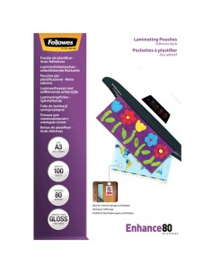 Fellowes 5302302 lamination film A3 100 pc(s) Fellowes 5302302 - 1