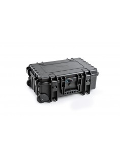 B&W 6600 Audioliitäntä Tietokonelaukku pyörillä Polypropeeni (PP), Kumi Musta B&w International 6600/B/RPD - 1