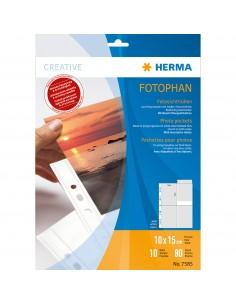 HERMA 7585 muovitasku 100 x 150 mm Polypropeeni (PP) 10 kpl Herma 7585 - 1