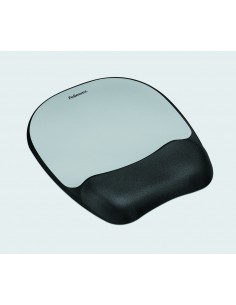 Fellowes 9175801 mouse pad Black, Silver Fellowes 9175801 - 1