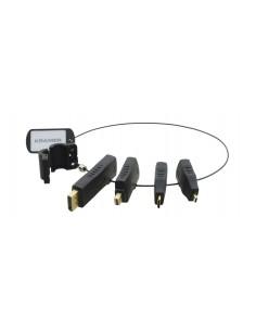 Kramer Electronics AD-RING-2 cable gender changer Musta Kramer 99-9191021 - 1
