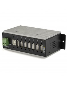StarTech.com Industriell USB-hubb med 7 portar - USB 2.0 15 kV ESD-skydd Startech HB20A7AME - 1
