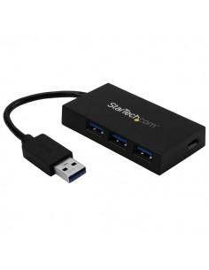 StarTech.com HB30A3A1CSFS gränssnittshubbar USB 3.2 Gen 1 (3.1 1) Type-A 5000 Mbit/s Svart Startech HB30A3A1CSFS - 1