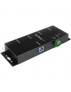 StarTech.com ST4300USBM keskitin USB 3.2 Gen 1 (3.1 1) Type-B 5000 Mbit/s Musta Startech ST4300USBM - 1