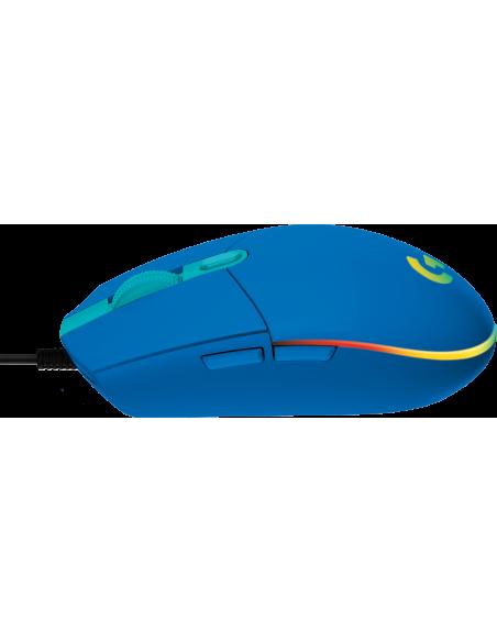 Logitech G102 Lightsync - Blue - Eer Logitech 910-005801 - 4