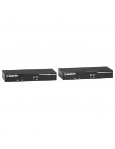 Black Box Kvm Extender Fiber Sfp Bundle - 4k Sh Dp Usb 2.0 Serial Black Box KVXLCDPF-100-SFPBUN3 - 1