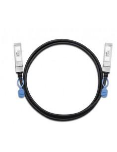 Zyxel DAC10G-1M-ZZ0103F verkkokaapeli Musta Zyxel DAC10G-1M-ZZ0103F - 1