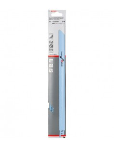 Bosch 2 608 657 409 sågblad till sticksåg, dekupörsåg och tigersåg Sticksågsblad Bimetall 5 styck Bosch 2608657409 - 1