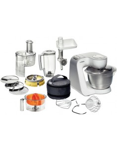 Bosch Styline matberedare 900 W 3.9 l Rostfritt stål, Vit Bosch MUM54251 - 1
