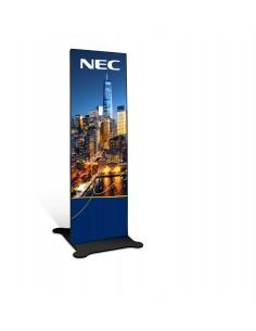 "NEC Direct View LED LED-A019i Totem design 198.1 cm (78"") Svart Nec 80000009 - 1"