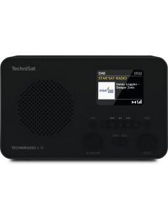 TechniSat TechniRadio 6 IR Portable Analog & digital Black Technisat 0000/3961 - 1