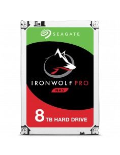 """Seagate IronWolf Pro ST8000NE0004 interna hårddiskar 3.5"""" 8000 GB Serial ATA III Seagate ST8000NE0004 - 1"""