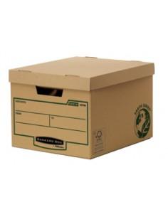 Fellowes 4470601 kansioiden säilytyslaatikko Paperi Ruskea Fellowes 4470601 - 1