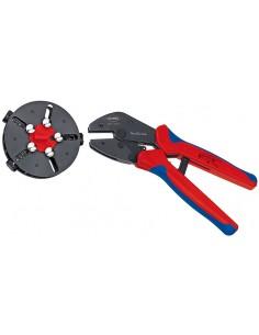 Knipex 97 33 01 johtopihdit Puristustyökalu Sininen, Punainen Knipex 97 33 01 - 1