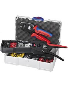 Knipex 97 90 24 johtopihdit Työkalusetti Musta, Sininen, Punainen Knipex 97 90 24 - 1