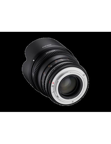Samyang VDSLR 50mm T1.5 MK2 MILC Elokuvaobjektiivi Musta Samyang 23015 - 2