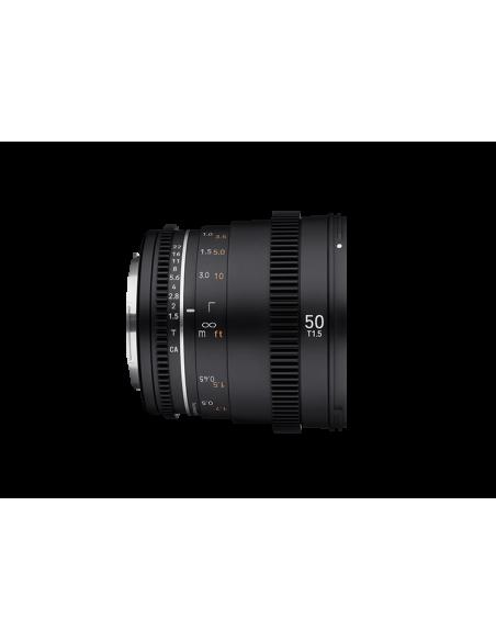 Samyang VDSLR 50mm T1.5 MK2 MILC Elokuvaobjektiivi Musta Samyang 23016 - 4
