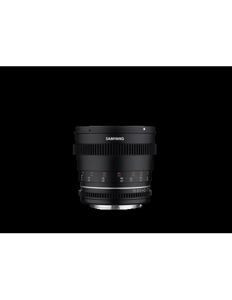 Samyang VDSLR 50mm T1.5 MK2 MILC Elokuvaobjektiivi Musta Samyang 23018 - 3