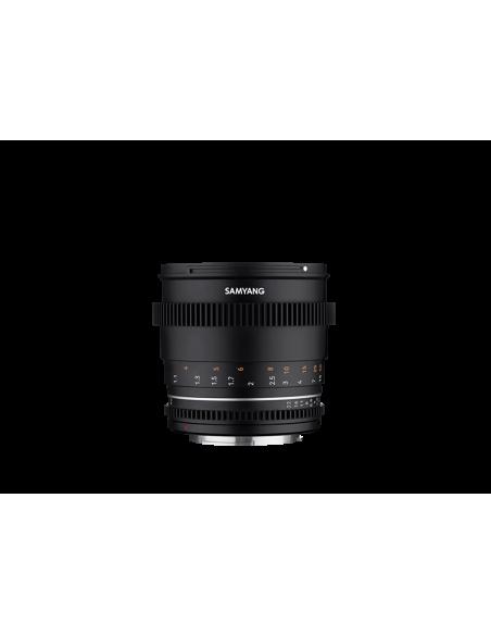Samyang VDSLR 85mm T1.5 MK2 MILC Elokuvaobjektiivi Musta Samyang 23021 - 3