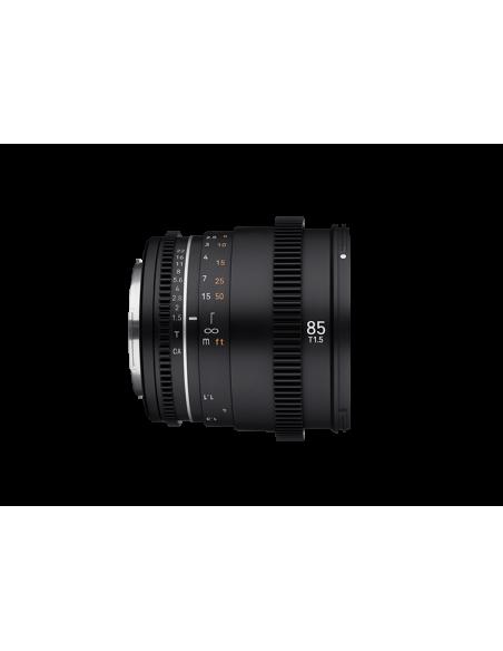Samyang VDSLR 85mm T1.5 MK2 MILC Elokuvaobjektiivi Musta Samyang 23021 - 4