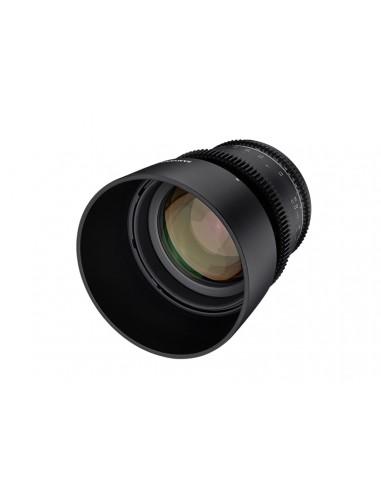 Samyang VDSLR 85mm T1.5 MK2 MILC Elokuvaobjektiivi Musta Samyang 23022 - 1