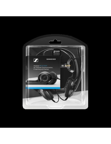 EPOS PC 5 Chat Kuulokkeet Pääpanta 3.5 mm liitin Musta Sennheiser 508328 - 8