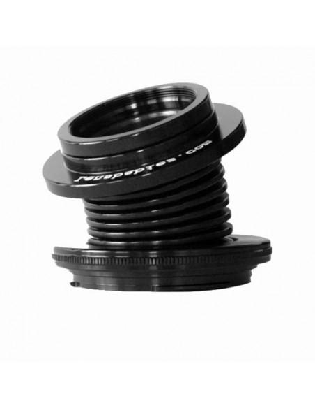Lensbaby Velvet 28 Silver Sony E Lensbaby LBV28SEX - 1