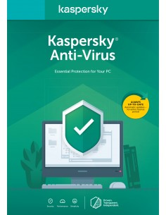 Kaspersky Lab Anti-Virus 2020 Hollanti 1 lisenssi(t) vuosi/vuosia Kaspersky KL1171B5CFS-20SL - 1