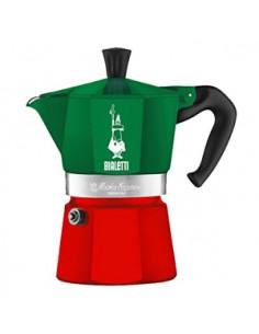 Bialetti 0005322 kahvinkeitin Mokkapannu 0.13 L Vihreä, Punainen Bialetti 0005322 - 1