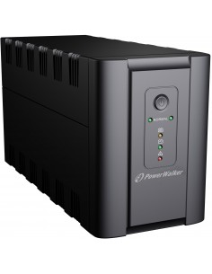 PowerWalker VI 1200 SH Schuko Linjainteraktiivinen VA 600 W 4 AC-pistorasia(a) Bluewalker 10120050 - 1