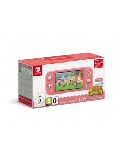 """Nintendo Switch Lite (Coral) Animal Crossing: New Horizons Pack + NSO 3 months (Limited) kannettava pelikonsoli 14 cm (5.5"""") 32"""