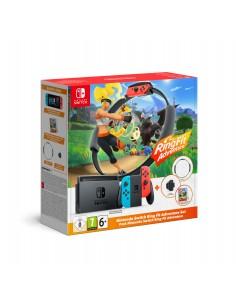 "Nintendo Switch HW + Ring Fit Adventure (Limited) kannettava pelikonsoli 15.8 cm (6.2"") 32 GB Wi-Fi Musta, Sininen, Punainen Nin"