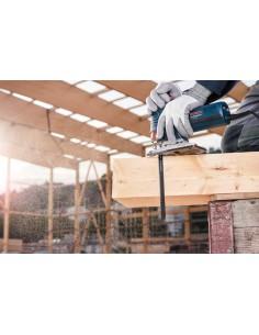 Bosch 2 608 637 880 sågblad till sticksåg, dekupörsåg och tigersåg Figursågblad Stål med hög kolhalt (HCS) 100 styck Bosch 26086