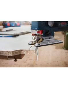 Bosch 2 608 663 752 sågblad till sticksåg, dekupörsåg och tigersåg Figursågblad Stål med hög kolhalt (HCS) 25 styck Bosch 260866