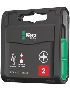 Wera Bit-Box 20 BTZ PH talttaterä kpl Wera 05057751001 - 1