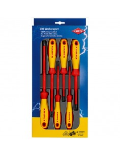 Knipex 00 20 12 V01 käsikäyttöinen ruuvimeisseli Setti Standardi Knipex 00 20 12 V01 - 1