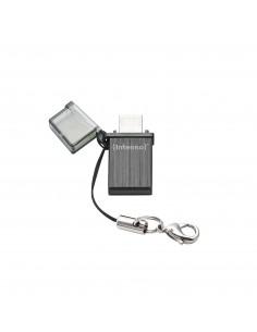 Intenso Mini Mobile Line USB-muisti 8 GB USB Type-A / Micro-USB 2.0 Antrasiitti Intenso 3524460 - 1