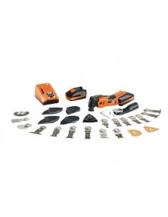 FEIN Cordless MULTIMASTER AMM 700 Max Top Musta, Oranssi 19500 OPM Fein 71293461000 - 1