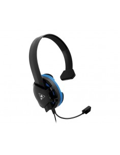 Turtle Beach Recon Chat Kuulokkeet Pääpanta 3.5 mm liitin Musta, Sininen Turtle Beach TBS-3345-02 - 1