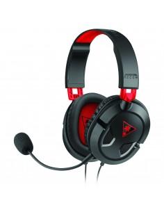 Bigben Interactive TB043101 kuulokkeet ja kuulokemikrofoni Pääpanta 3.5 mm liitin Musta, Punainen Turtle Beach TBS-6003-02 - 1