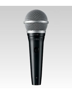 Shure PGA48-QTR Black, Metallic Stage/performance microphone Shure PGA48-QTR-E - 1