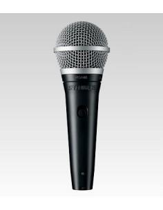 Shure PGA48-QTR Musta, Metallinen Lava-/esitysmikrofoni Shure PGA48-QTR-E - 1