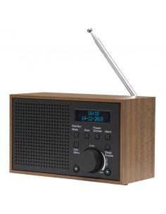 Denver DAB-46DARK GREY radioapparater Internet Analog och digital Svart, Brun Denver 111111000390 - 1