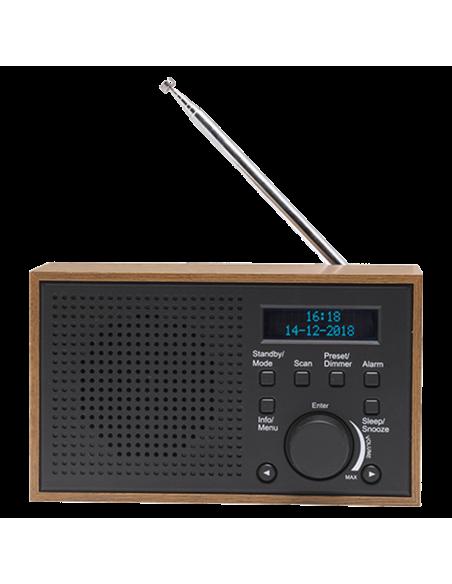 Denver DAB-46DARK GREY radio Internet Analog & digital Black, Brown Denver 111111000390 - 2