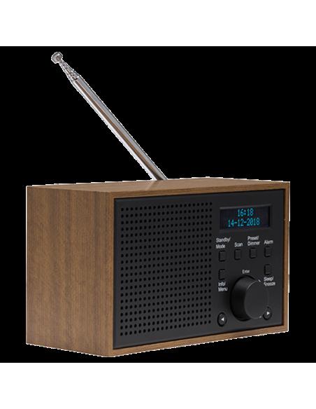 Denver DAB-46DARK GREY radio Internet Analog & digital Black, Brown Denver 111111000390 - 5
