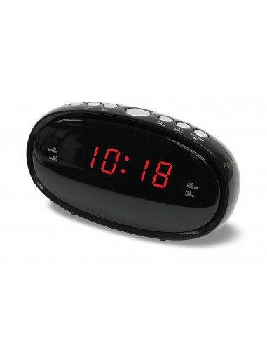 Denver CR-420 Clock Digital Black Denver 111131000191 - 1