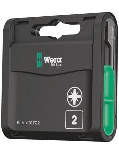 Wera Bit-Box 20 PZ talttaterä 15 kpl Wera 05057760001 - 1