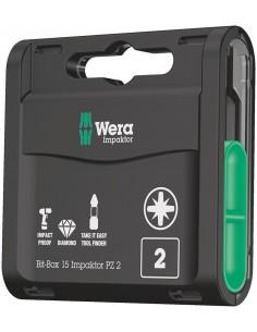 Wera Bit-Box 15 Impaktor PZ talttaterä kpl Wera 05057763001 - 1